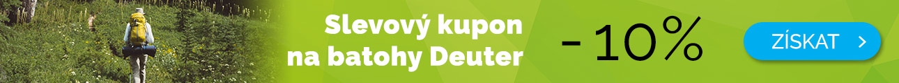 Dlouhodobé - EXTRA SLEVA -10% na batohy Deuter