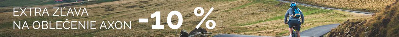 EXTRA ZĽAVA na oblečenie AXON -10%
