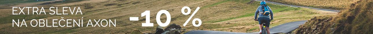 EXTRA SLEVA na oblečení AXON - 10%