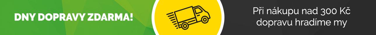 Dny dopravy zdarma nad 300 Kč