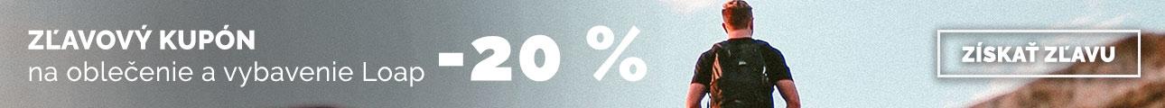 Zľava 20% na novinky LOAP - leto