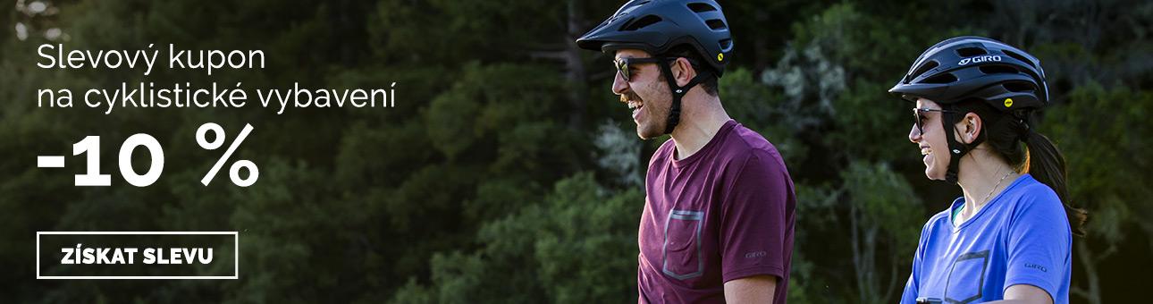 SLEVOVÝ KUPON -10 % na cyklistické vybavení