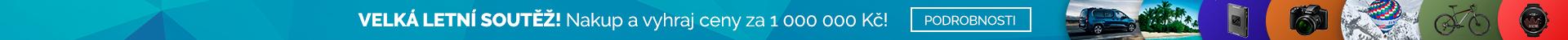 SOUTĚŽ - Nakup a vyhraj ceny za 1000000 Kč!