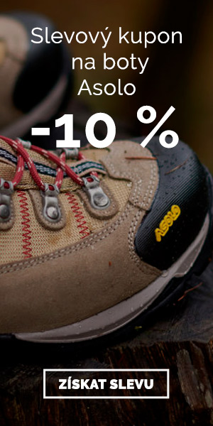 Extra sleva -10% na boty Asolo