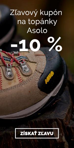 Extra zľava -10% na topánky Asolo