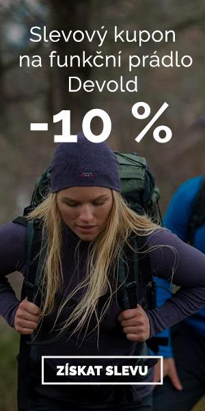 Extra sleva -10% na funkční prádlo Devold