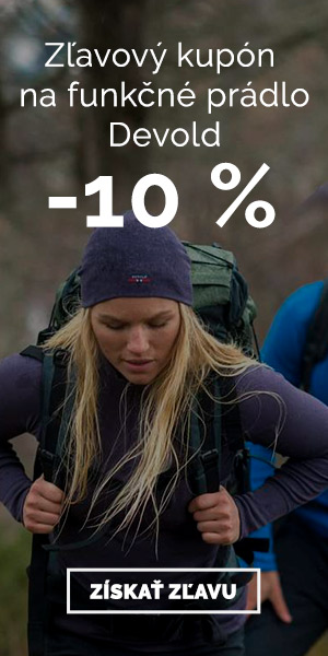 Extra zľava -10% na funkčné prádlo Devold