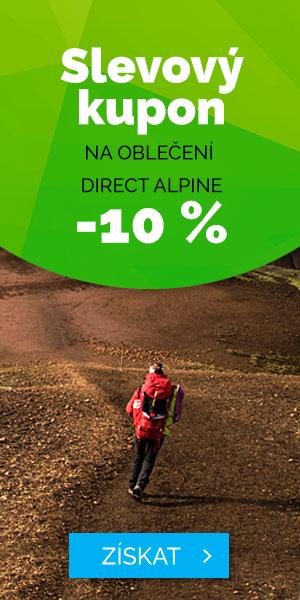 EXTRA SLEVA -10% na oblečení Direct Alpine - léto