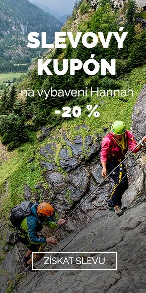 EXTRA SLEVA 20 % na vybavení Hannah