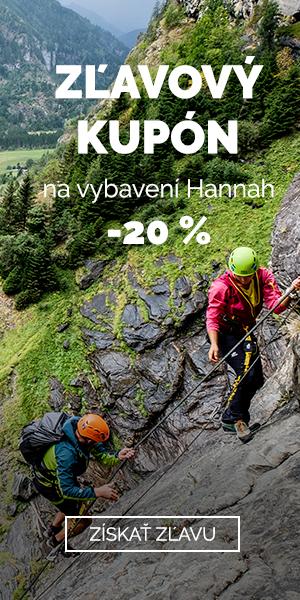 EXTRA Z'LAVA 20 % na vybavení Hannah