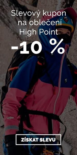 High Point - sleva 10 % na oblečení