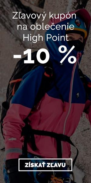 High Point - zľava 10 % na oblečenie