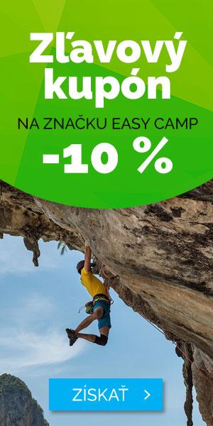 Zľavový kupón - 10% Easy Camp