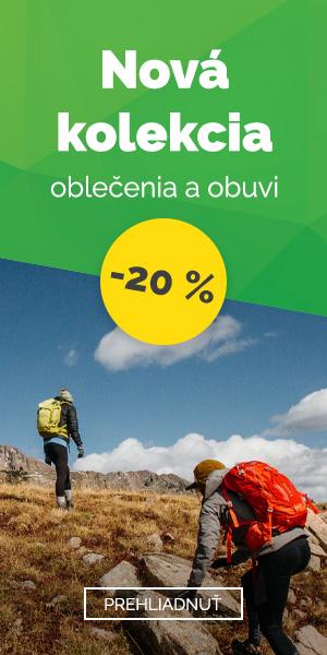 Nová kolekcia oblečenia a topánok - zľava 20%