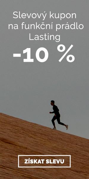 Lasting - sleva 10 % na funkční prádlo