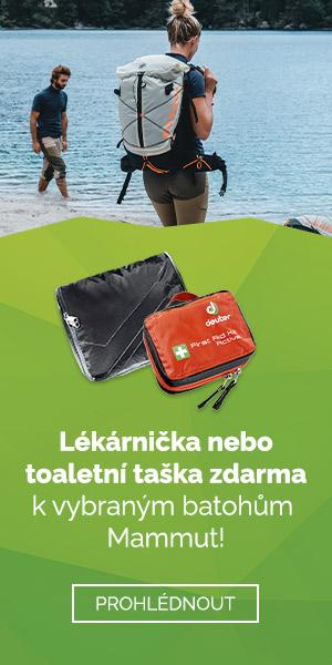 Batohy Mammut + lékárnička nebo toaletní taška jako dárek