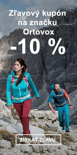 Extra sleva -10 % na značku Ortovox