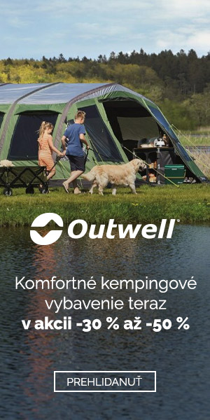 Zľava 30-50% na Outwell