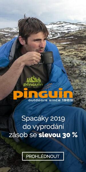 Výprodej spacáků Pinguin 2019