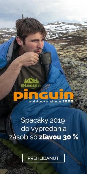 Výpredaj spacákov Pinguin 2019
