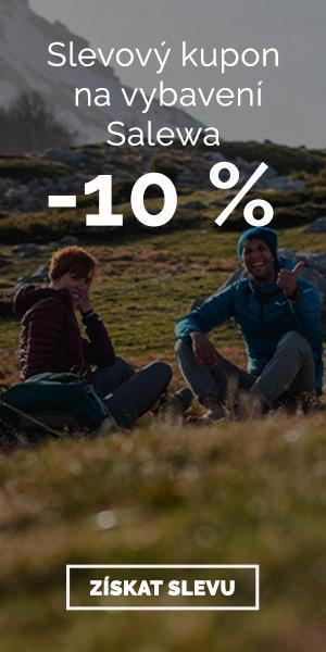 Salewa - sleva 10 % na vybavení