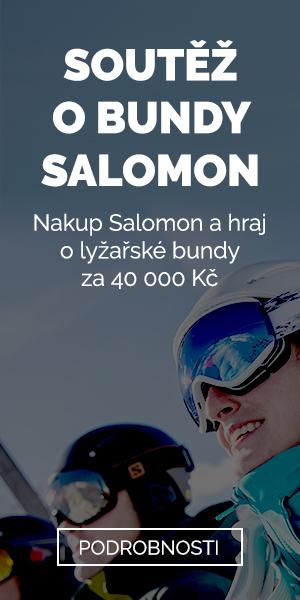 Salomon - soutěž o bundy