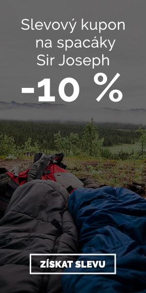 Sir Joseph - sleva 10 % na spacáky