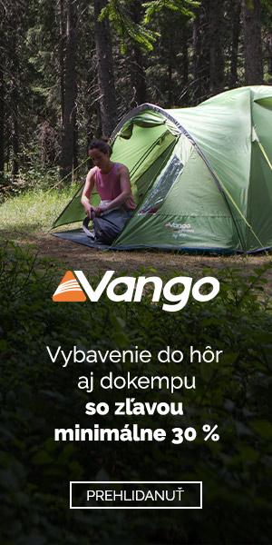 Zľava 30 % a viac na Vango