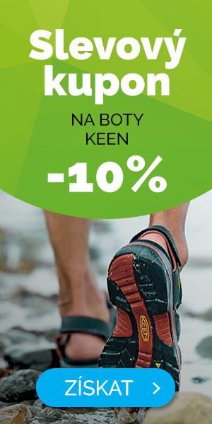 Dlouhodobé - EXTRA SLEVA -10% na boty KEEN