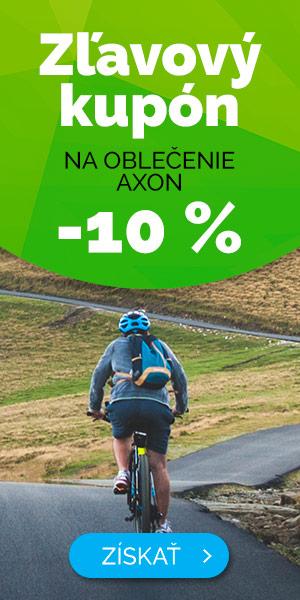 Zľavový kupón -10% na oblečenie AXON