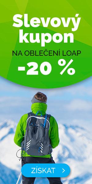 Slevový kupón -20% na oblečení LOAP - zima