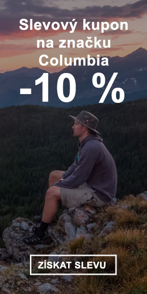 Extra sleva -10 % na značku Columbia
