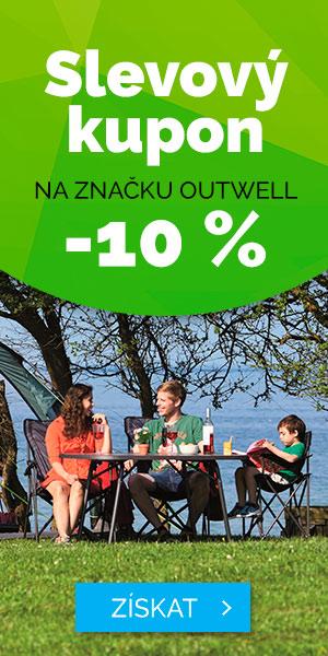 Slevový kupon -10% na značku OUTWELL - léto