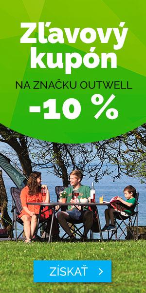 Zľavový kupón -10% na značku Outwell - leto