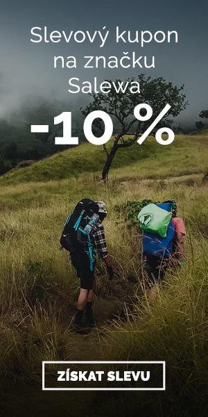 Extra sleva -10% na značku Salewa