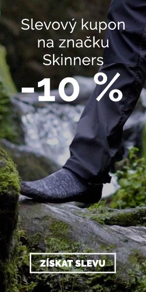 Extra sleva -10% na značku Skinners