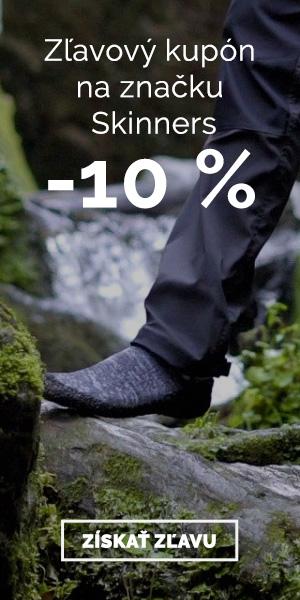 Extra zľava -10% na značku Skinners
