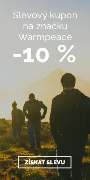 Extra sleva -10% na značku Warmpeace