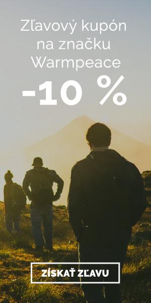 Extra zľava -10% na značku Warmpeace