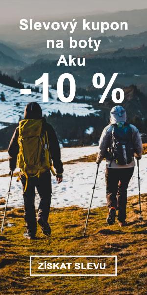 Extra sleva -10 % na značku Aku