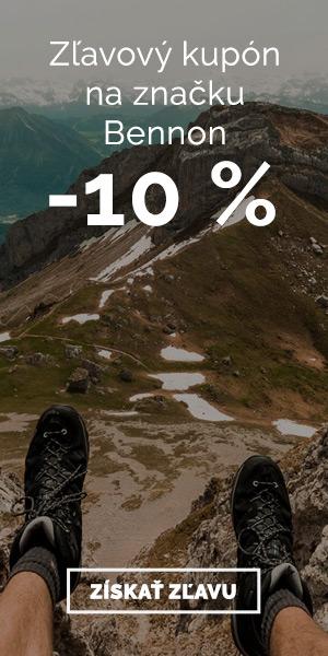 Extra sleva -10% na obuv Bennon