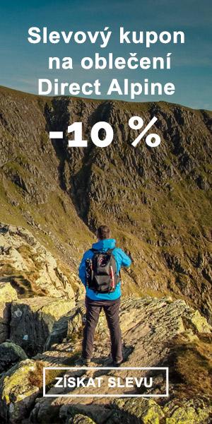 EXTRA SLEVA -10% na oblečení Direct Alpine