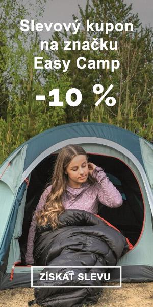 Extra sleva -10 % na značku Easy Camp