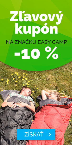 Zľavový kupón -10% na značku EASY CAMP - leto