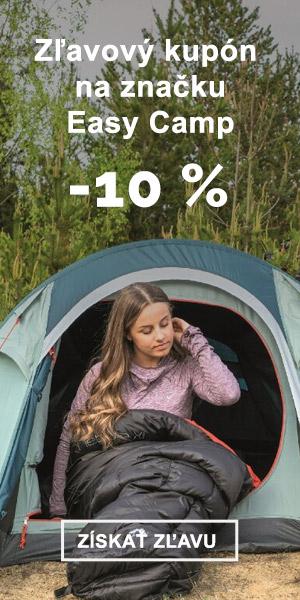 Extra zľava -10 % na značku Easy Camp