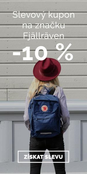 Extra sleva -10% na značku Fjällräven