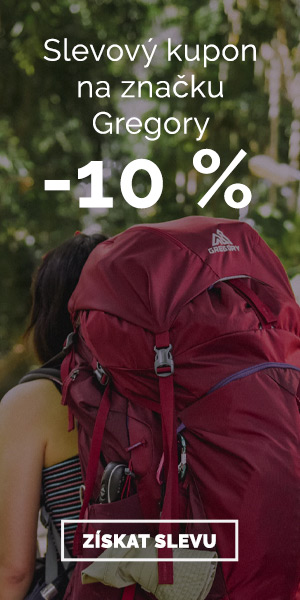 Extra sleva -10% na batohy Gregory