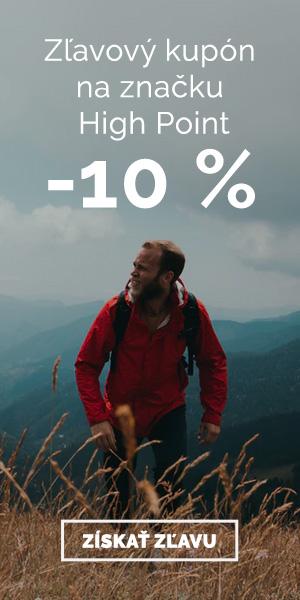 Extra zľava -10% na značku High Point