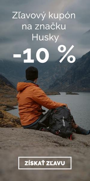 Extra zľava -10% na vybavenie HUSKY