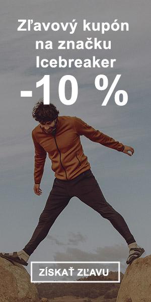 Extra zľava -10 % na značku Icebreaker